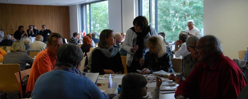 Treffen am 1.10.16 im Stadthaus mit Laatzner Vereinen und den Vereinen der Partnerstädte