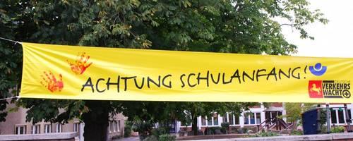 Banner Schulanfang