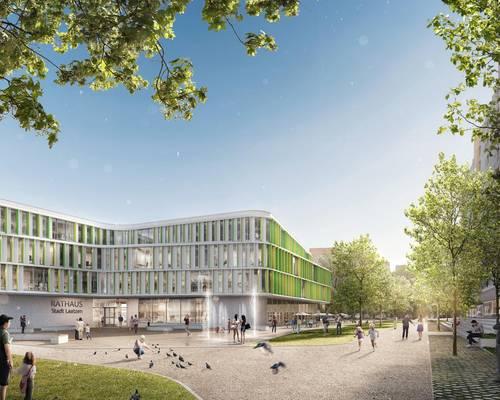 Rathaus - ganz neu © Stadt Laatzen