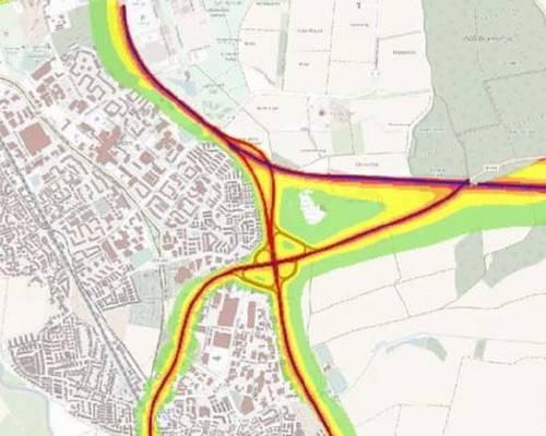 Lärmaktionsplan © Stadt Laatzen, Stadtplanung