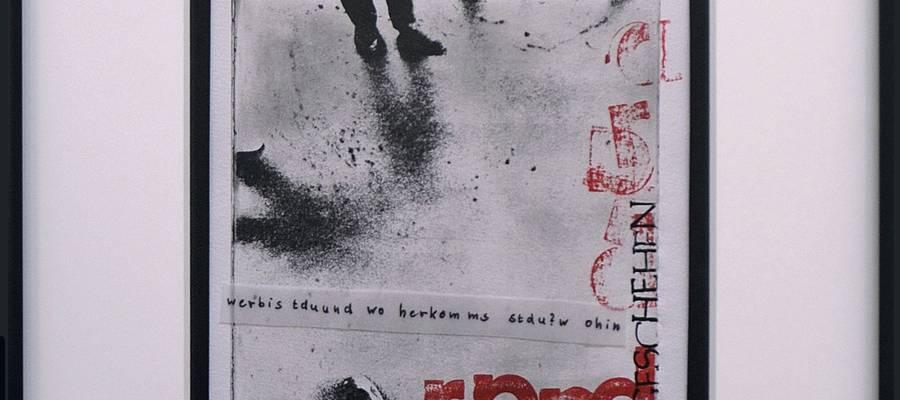 Ausschnitt des Bildes Randgeschehen der Künstlerin Martina Heina