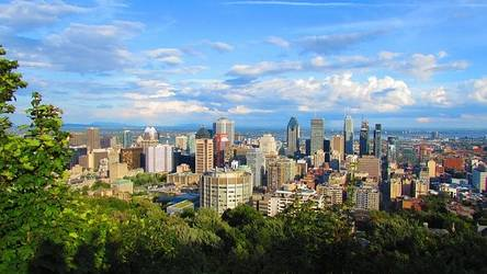 Blick über Montréal