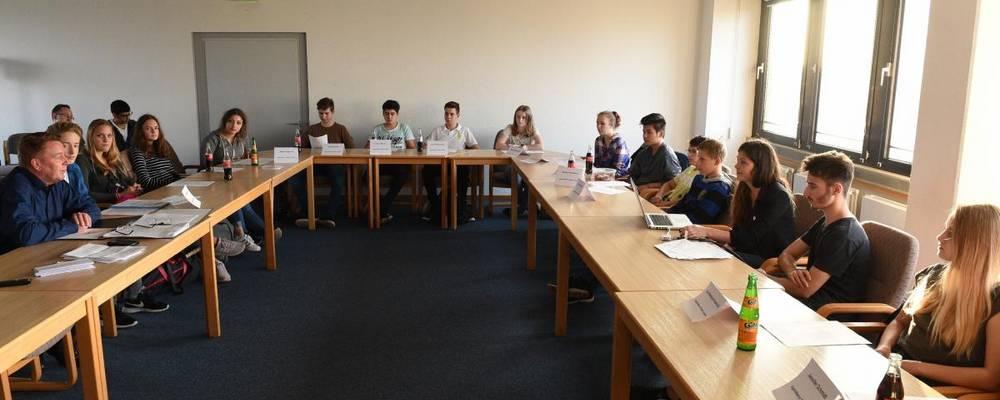 Sitzung des Jugendbeirates am 18.10.2017 im Sitzungsraum [(c): Daniel Junker] ©Daniel Junker