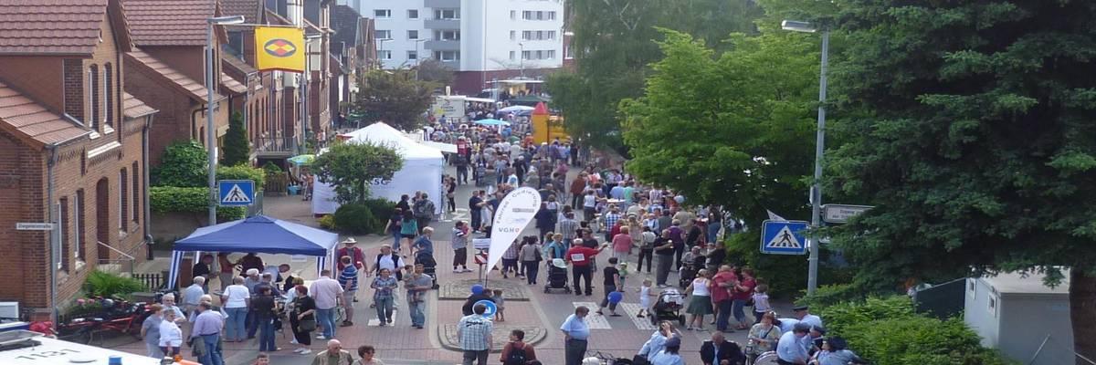 Blick über das Eichstraßenfest ©Katrin Förster