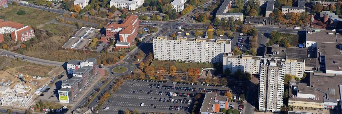Luftaufnahme von Laatzen-Mitte