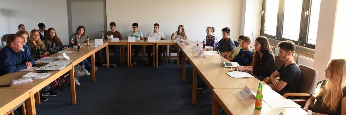Sitzung des Jugendbeirates am 18.10.2017 im Sitzungsraum