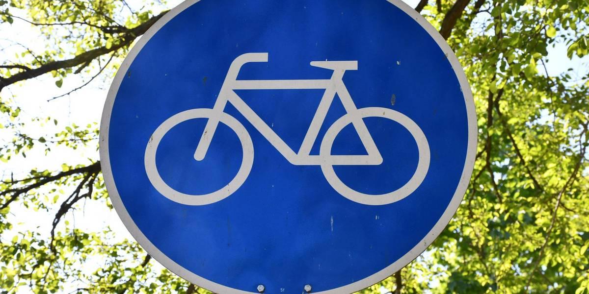 Verkehrsschild Fahrradweg