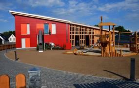 Die farbenfrohe Kindertagesstätte St. Gertruden