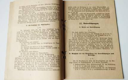 Historische Dokument, fotografiert als Doppelseite