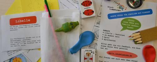 Spielzeug und Bastelanleitungen aus der Bunten Tüte