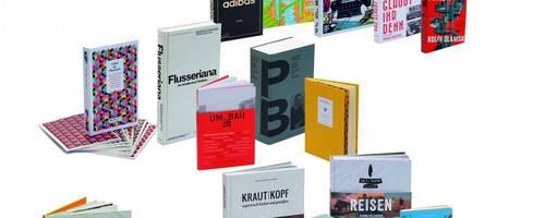 Auswahl der 25 schönsten Bücher als Plakat