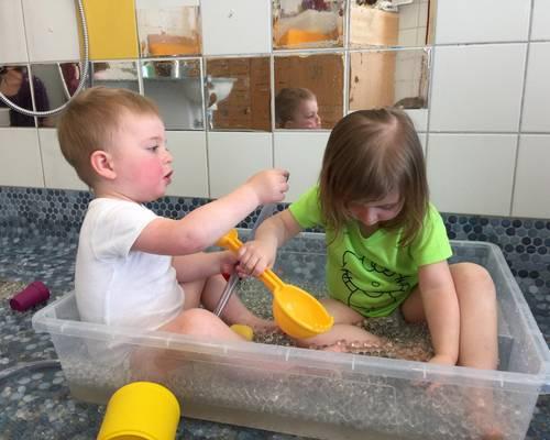 Forscher-Kita im Familienzentrum