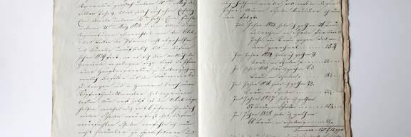 Historisches Dokument