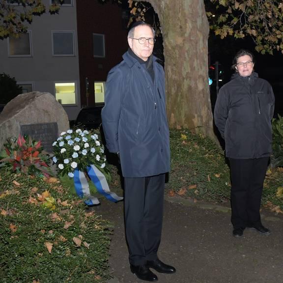 20201109 Foto Gedenken Pogrom ©Stadt Laatzen