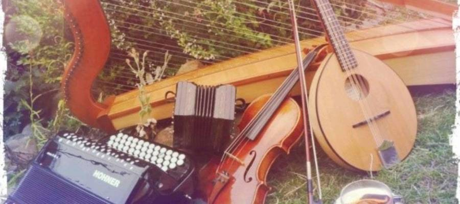 Unterschiedliche Musikinstrumente